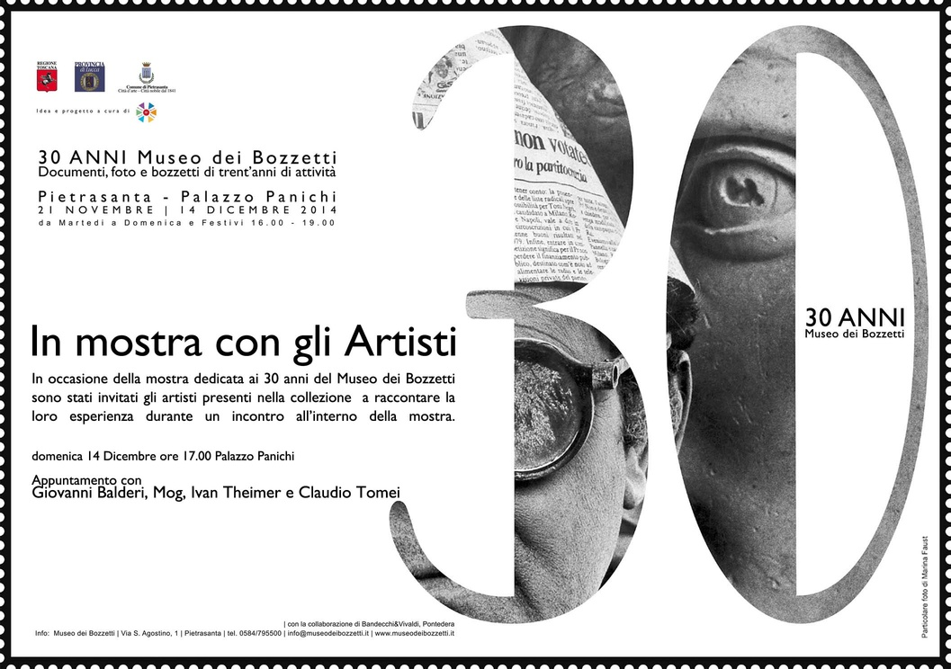 30 anni Museo dei Bozzetti Pietrasanta